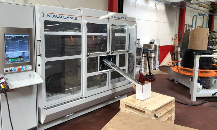 Reinforcement of the machinery park